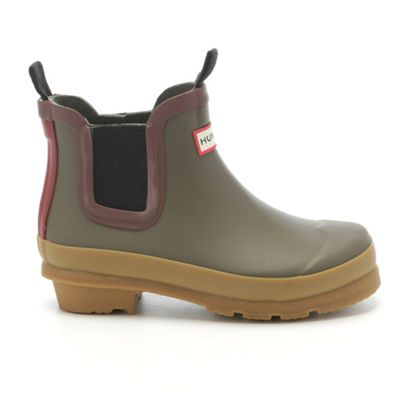 Hunter Kids' Original Gum Sole Chelsea Boot