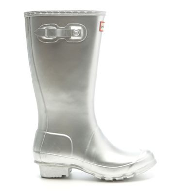 Hunter Kids' Original Metallic Boot