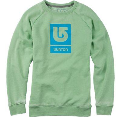 Burton Logo Vertical Fill Crew Sweatshirt - Women's