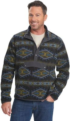 Woolrich Men's Trail Blazing Printed Fleece Pullover