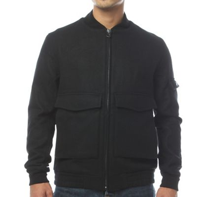 Woolrich Men's Mill Wool Aviator Jacket