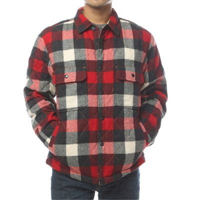 Woolrich Men's Quilted Mill Wool Shirt Jac