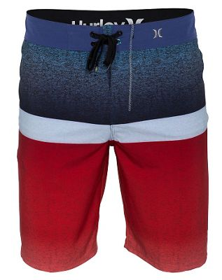 Hurley Phantom Blocked Flight 21in Boardshorts - Men's