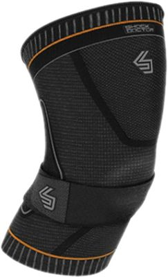 Shock Doctor Ultra Compression Knit Knee Support w/Patella Gel Support and Straps