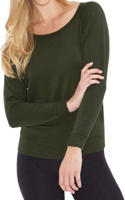 Beyond Yoga Women's Cozy Fleece Relaxed LS Pullover
