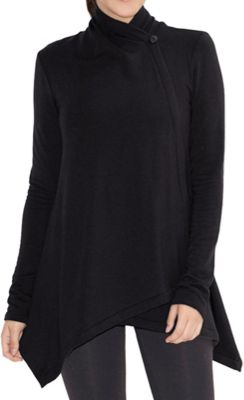 Beyond Yoga Women's Cozy Fleece Drape Front Cardigan