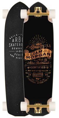 Arbor Liam Morgan Longboard Complete