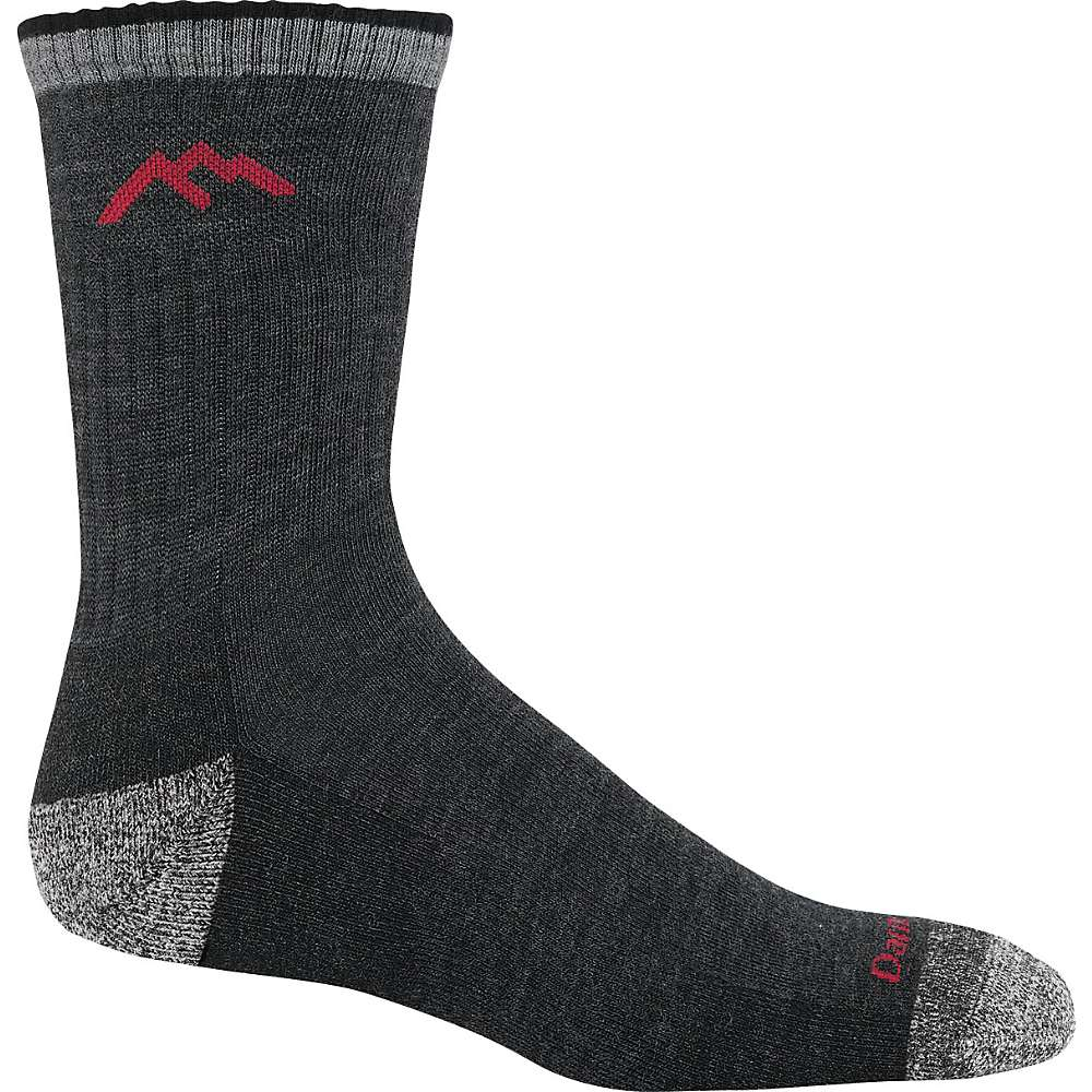Darn Tough Men's Hiker Micro Crew Cushion Sock - Medium - Black