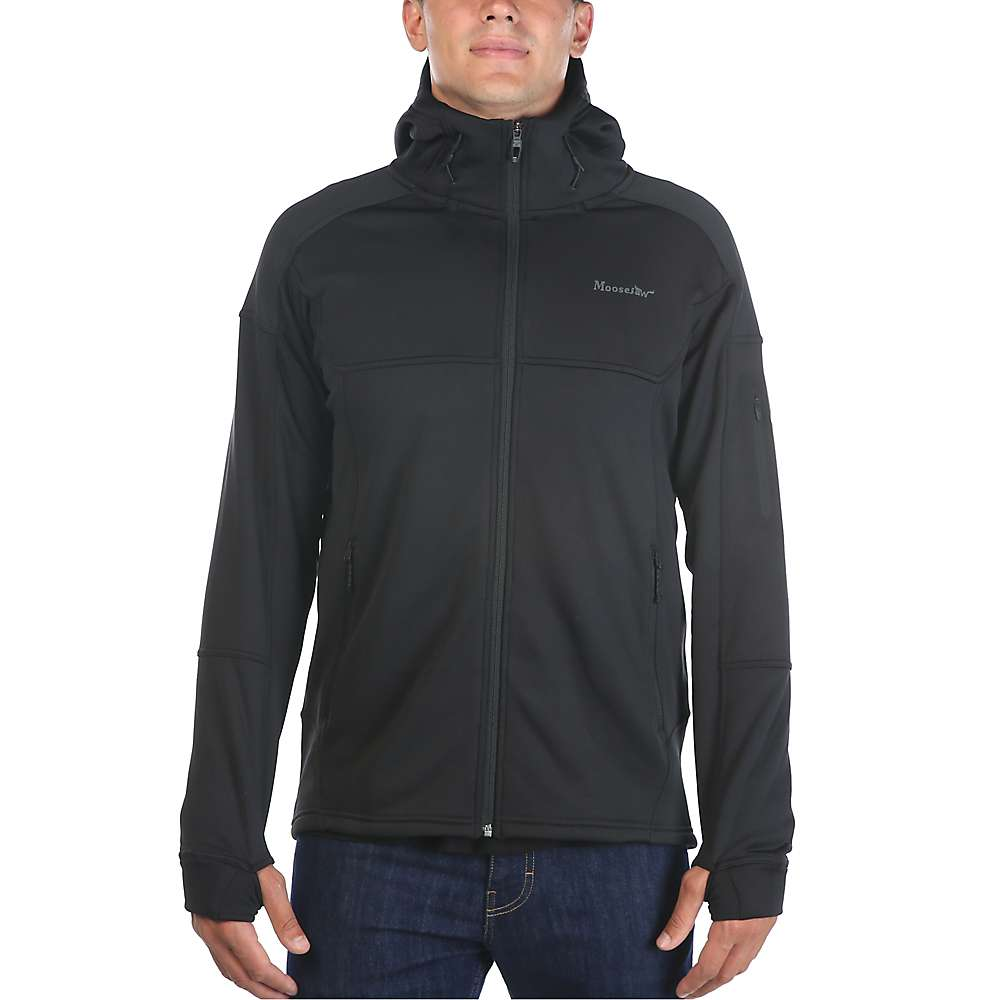 Moosejaw Men's Woodbridge Stretch Fleece Hoody - XXL - Black