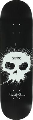 Zero Thomas Signature Skull Stencil Skateboard Deck - Men's