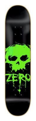 Zero Blood Skull Skateboard Deck - Men's