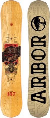 Arbor Whiskey Midwide Snowboard - Men's