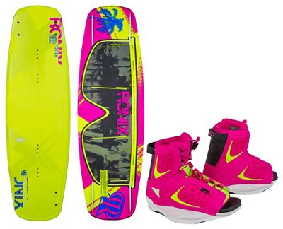 Ronix Quarter Til Midnight Atr Wakeboard w/ Luxe Bindings - Women's