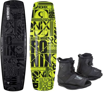 Ronix Code 21 Modello Wakeboard w/ Network Bindings - Men's