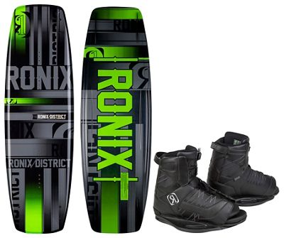 Ronix District Wakeboard w/ Divide Bindings - Men's