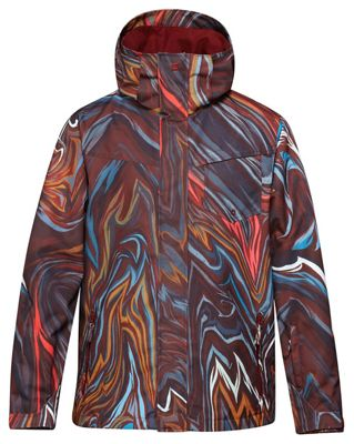 Quiksilver Travis Rice Mission Printed Insulated Snowboard Jacket - Men's