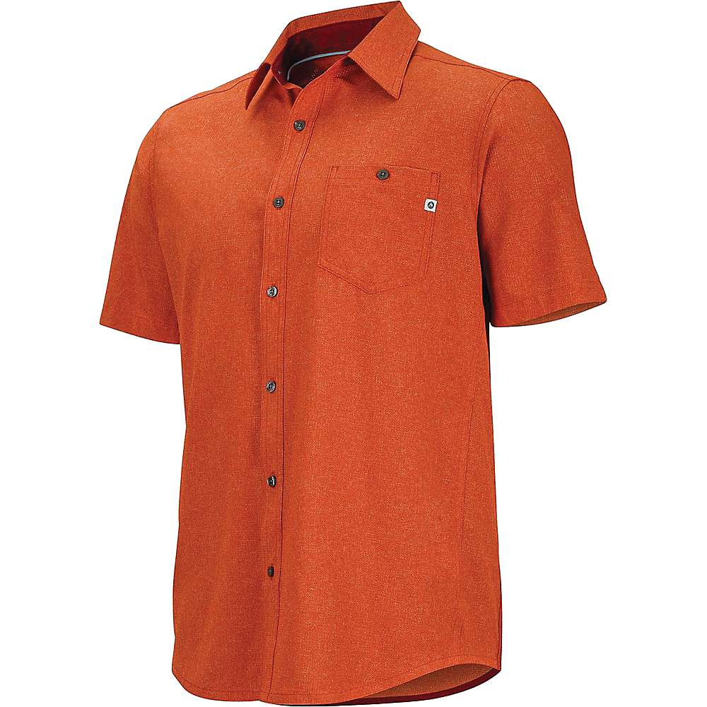 Marmot Men's Windshear SS Shirt - Small - Retro Red