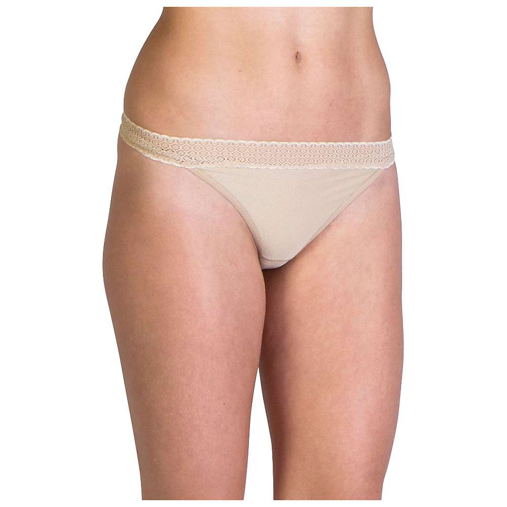 ExOfficio Women's Give-N-Go Lacy Thong - Small - Nude