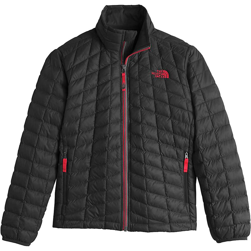 The North Face Boys' Thermoball Full Zip Jacket - XS - TNF Black / TNF Red