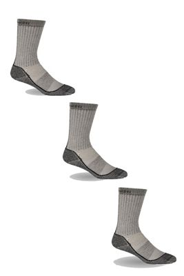 Icebreaker Women's Hike Medium Crew 3 Pack Socks