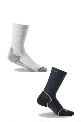 Icebreaker Women's Hike+ Medium Crew 2 Pack Sock