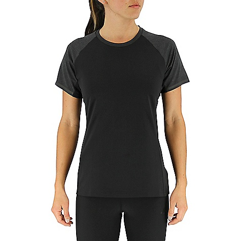 Adidas Women's All Outdoor Climaheat Fast Crew Black