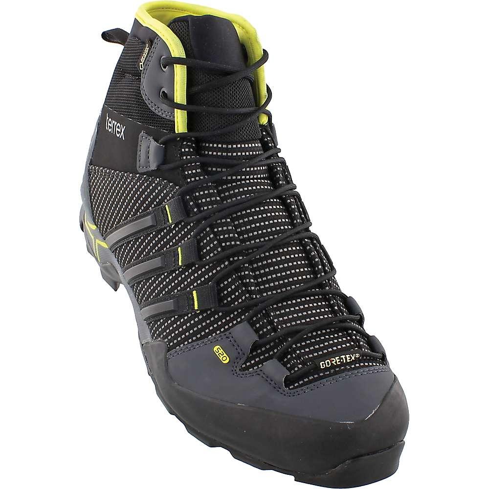 Adidas Men's Terrex Scope High GTX Shoe - 7 - Dark Grey / Black / Vista Grey