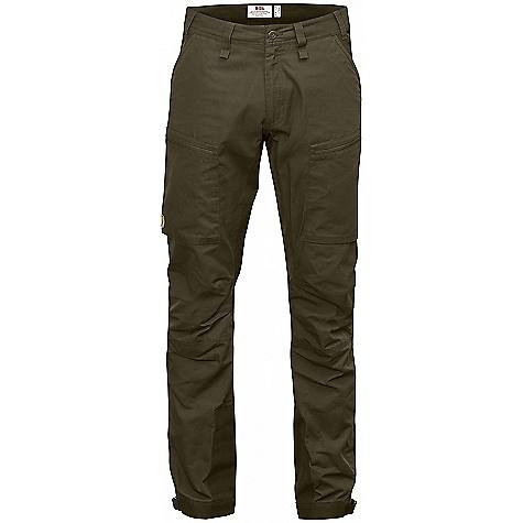 Fjallraven Men's Abisko Lite Trekking Trousers Dark Olive / Dark Olive