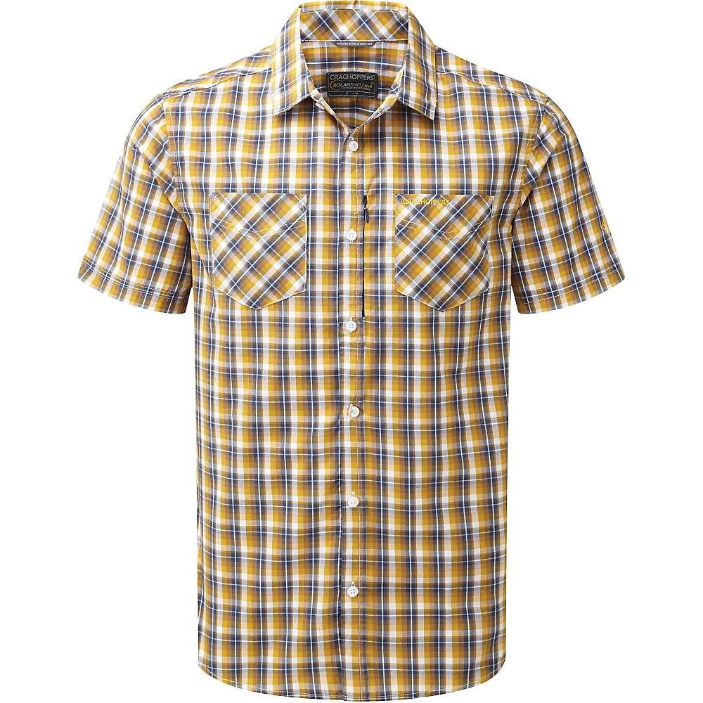 Craghoppers Men's Corin SS Shirt - Large - Dusk Blue Check