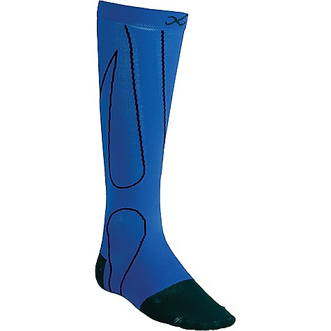 CW-X Performx Sock Blue / Black