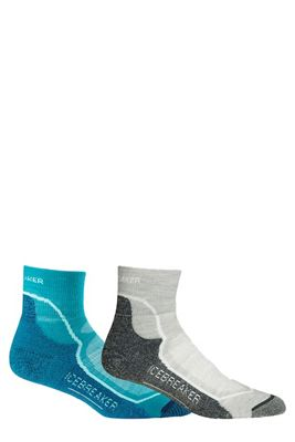 Icebreaker Women's Hike+ Light Mini 2-Pack Sock