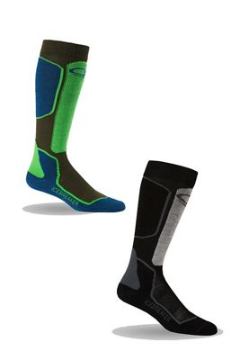 Icebreaker Men's Ski+ Light OTC 2-Pack Sock