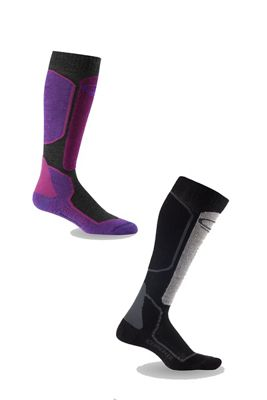 Icebreaker Women's Ski+ Light OTC 2-Pack Sock