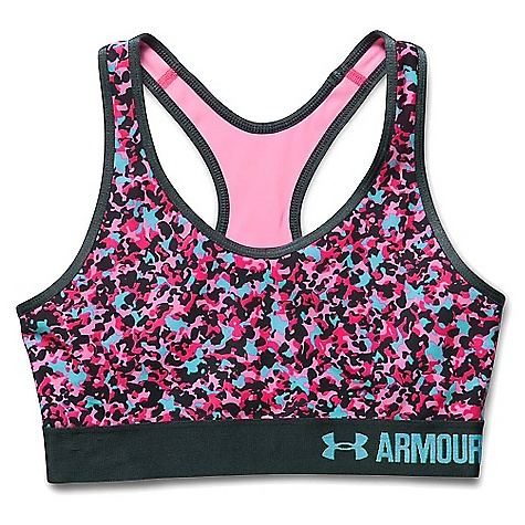 Under Armour Women's UA Armour Mid Printed Bra 3045024