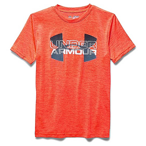 Under Armour Boys' Big Logo Hybrid SS Tee 3045868