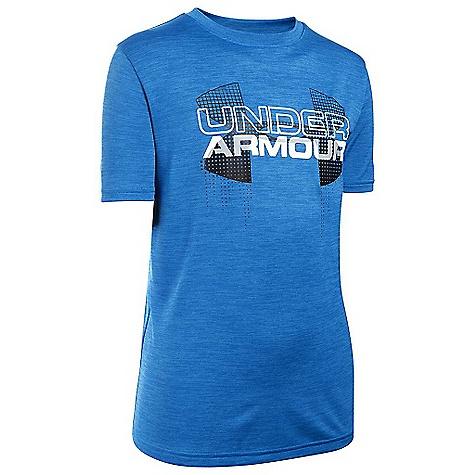 Under Armour Boys' Big Logo Hybrid SS Tee 3286298