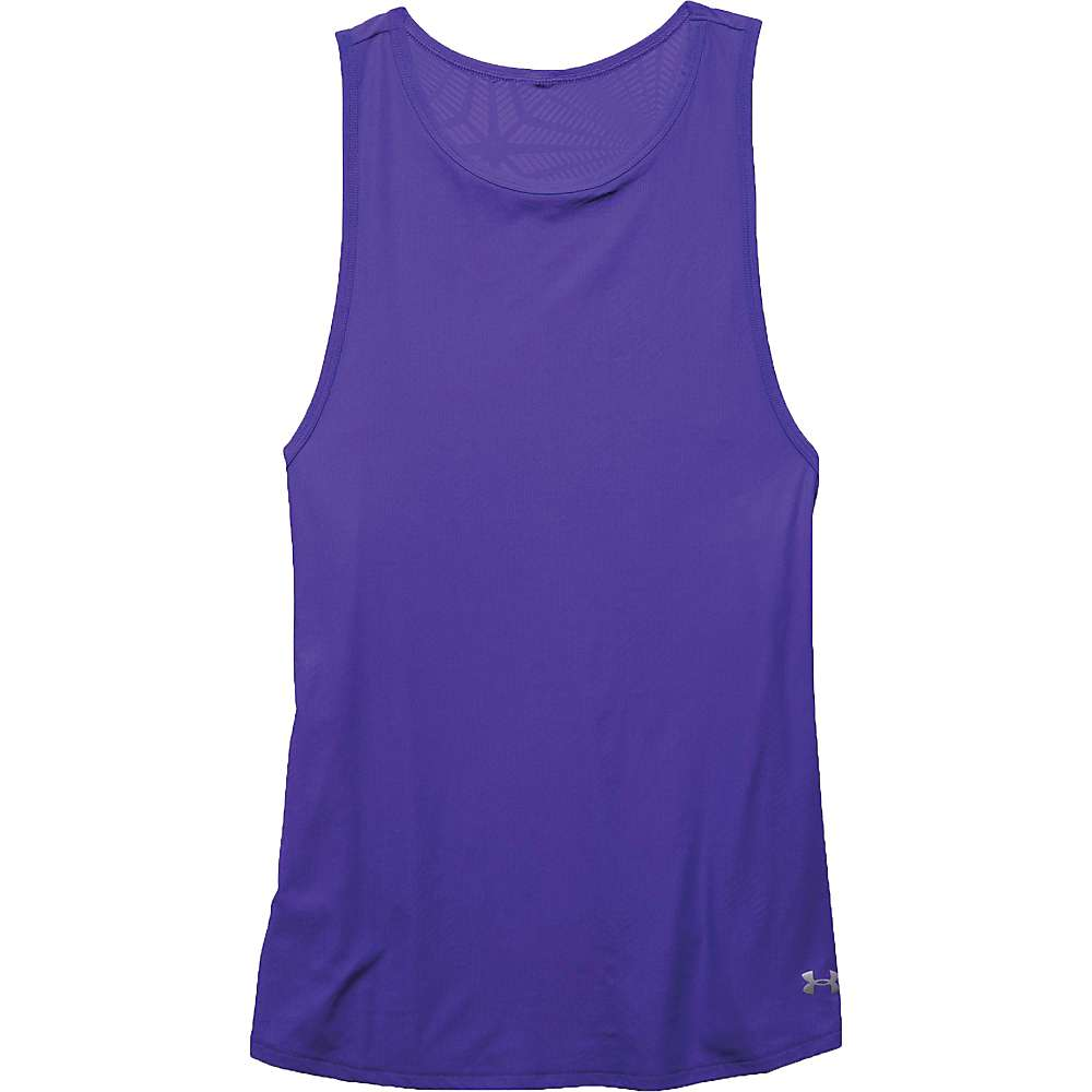 Under Armour Women's Coolswitch Run Tank - XS - Deep Orchid / Deep Orchid / Reflective
