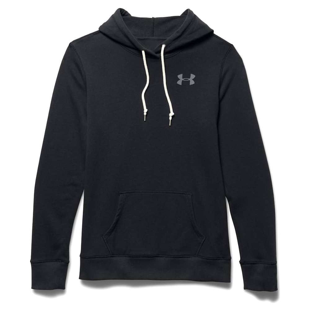 Under Armour Women's Favorite French Terry Popover - XS - Black / Graphite