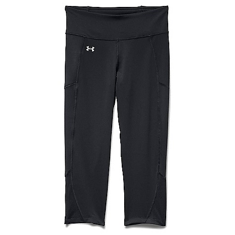 Under Armour Women's Fly By Run Capri Black / Black / Reflective