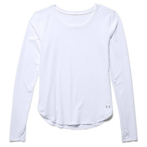 Under Armour Women's Fly By Solid LS Top 1271538