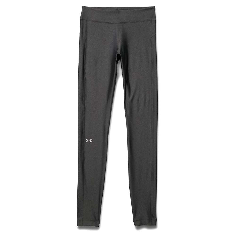 Under Armour Women's Heatgear Armour Legging - XL - Carbon Heather / Anthracite / Metallic Silver