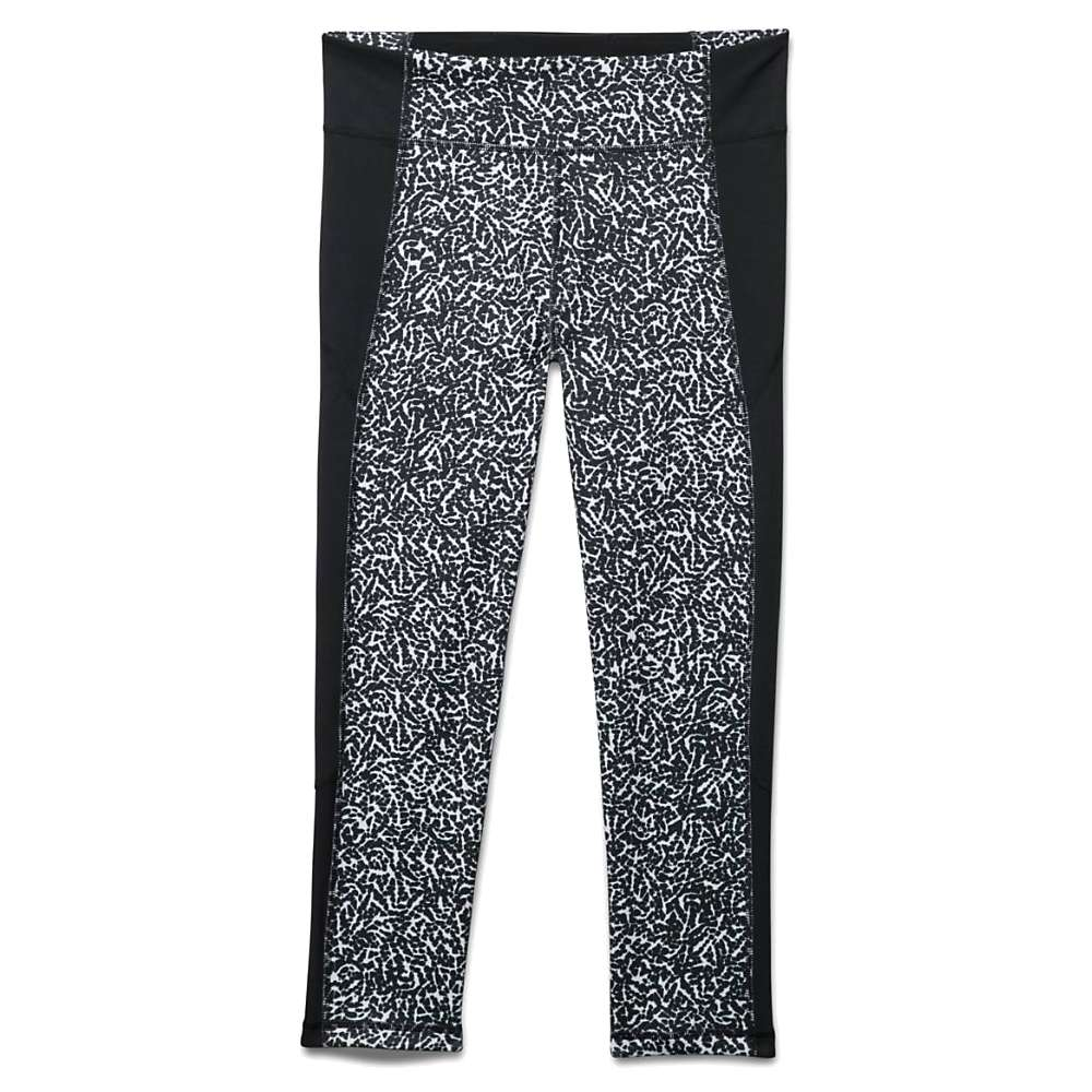 Under Armour Women's Shape Shifter Crop - XS - Black / White / Silver Print
