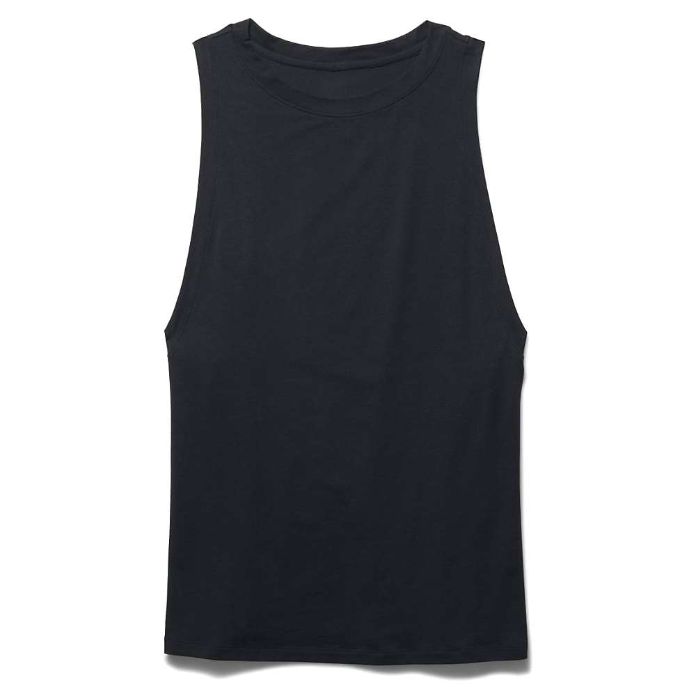 Under Armour Women's Studio Muscle Tank - Small - Black / White / Silver