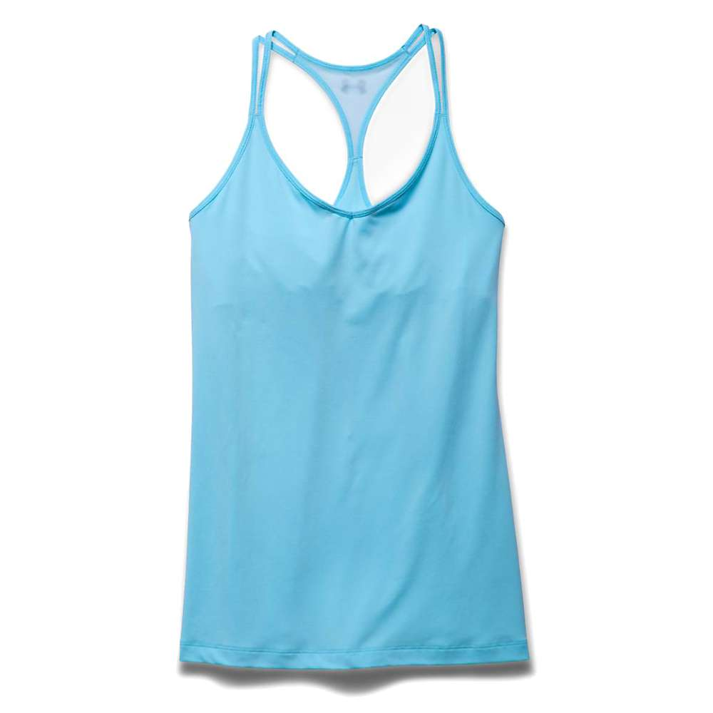 Under Armour Women's T Back Tech Tank - Medium - Sky Blue / Silver