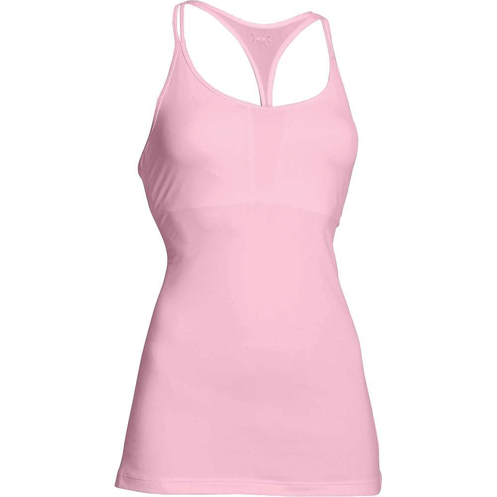 Under Armour Women's T Back Tech Tank - Large - Petal Pink / Silver
