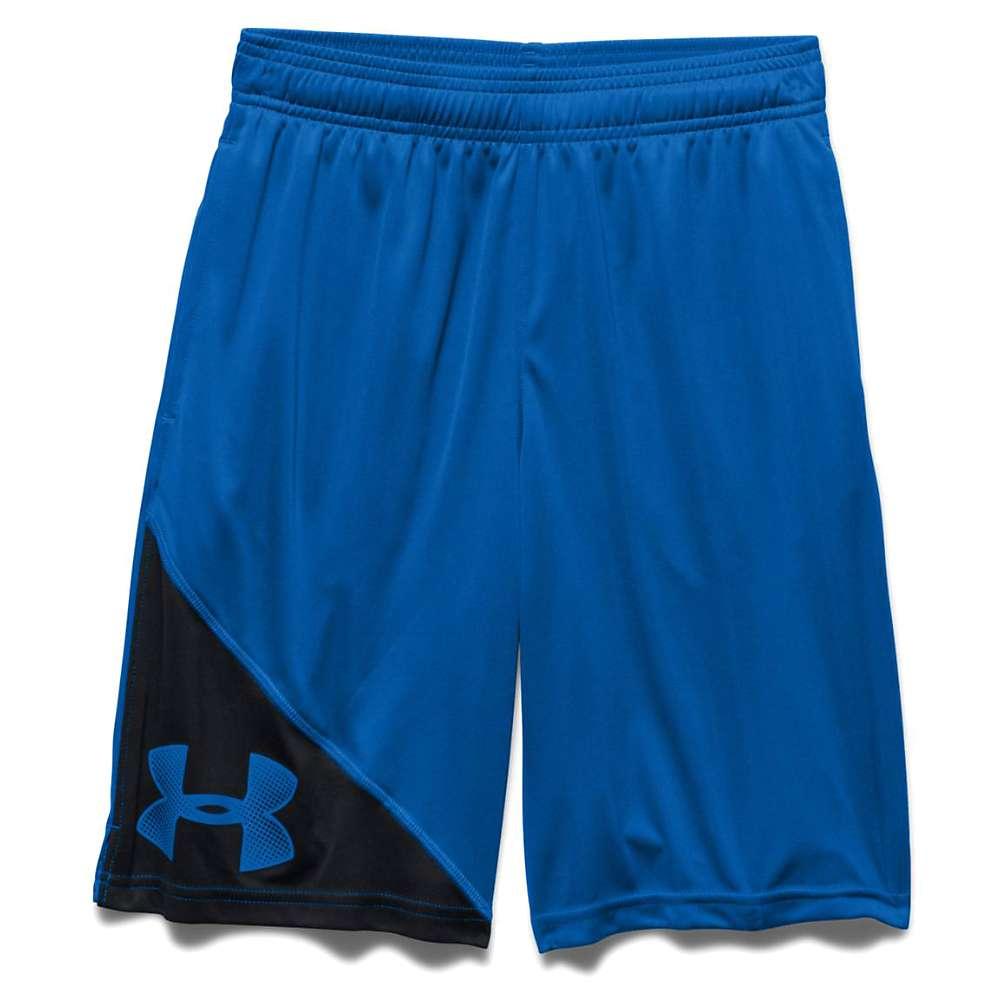 Under Armour Boys' UA Tech Prototype Short - Large - Ultra Blue / Black / Ultra Blue
