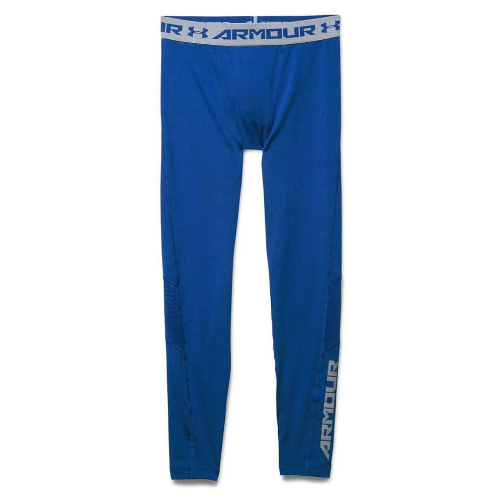 Under Armour Men's HeatGear Coolswitch Compression Legging - Large - Royal / Royal / Reflective