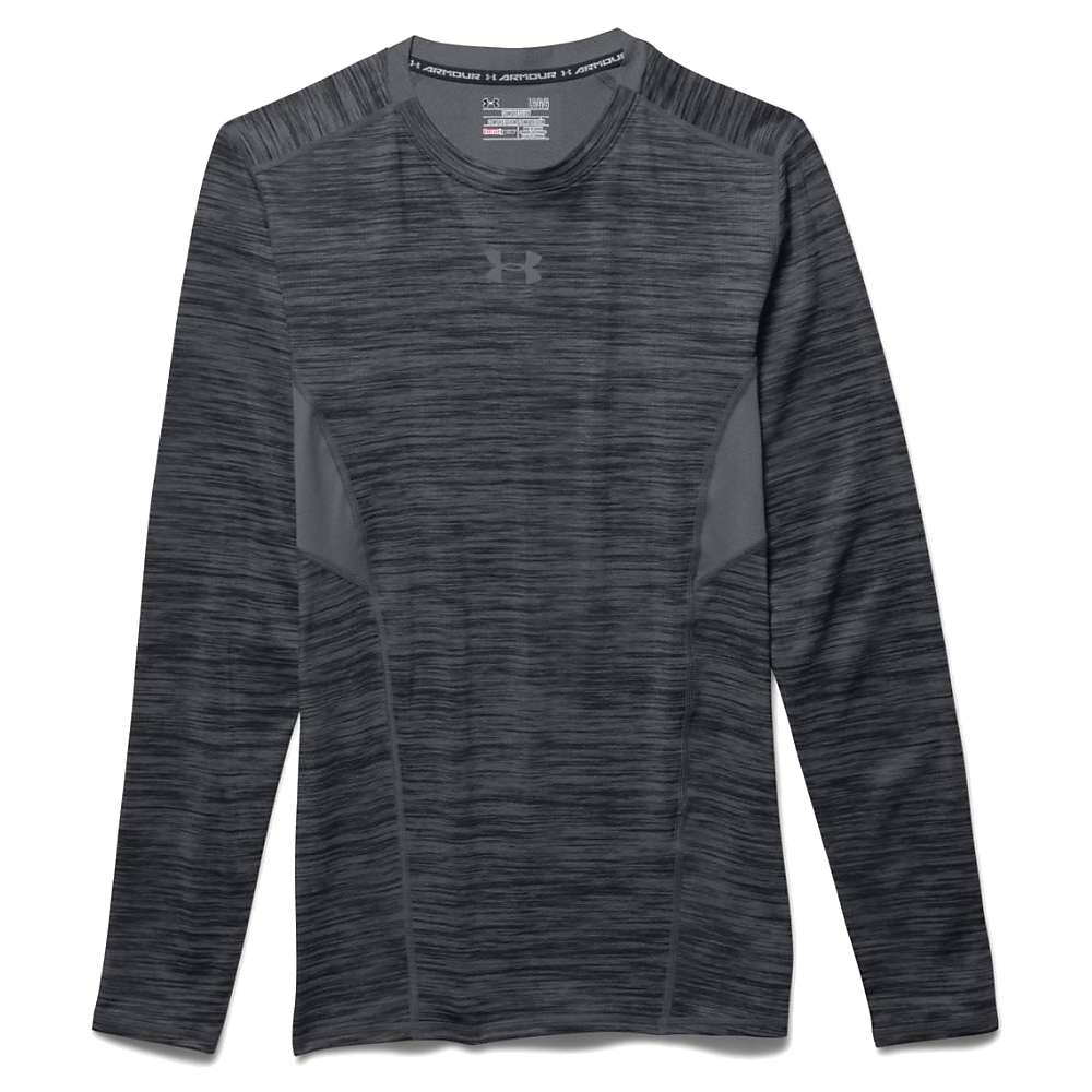 Under Armour Men's HeatGear Coolswitch Compression LS Tee - Small - Graphite / Graphite / Reflective