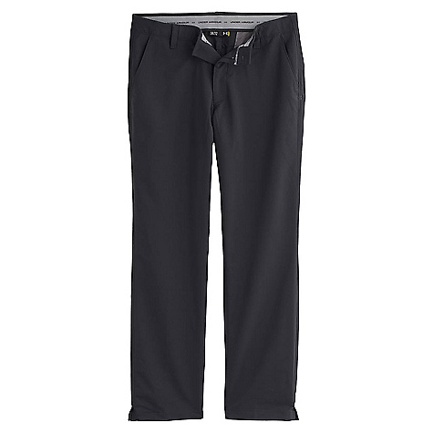 Under Armour Men's Match Play Pant Black / True Gray Heather / Black