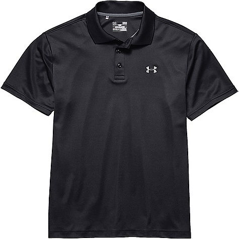 Under Armour Men's UA Performance Polo Black / Steel